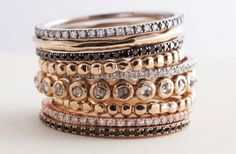 Gift your bridesmaids stackable rings from Tula Jewelry. They'll love them :)