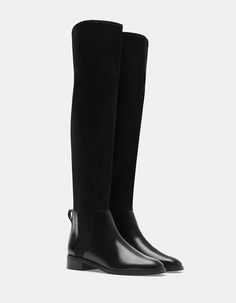 Neoprene elasticated XL boots - Boots and ankle Boots Shoes Heels Boots, Heeled Boots, Bootie Boots, Flat Boots, Knee High Boots, Mel Shoes, Warm Boots, Designer Boots, Riding Boots