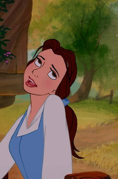 """Belle: """"Madam Gaston, can you just see it, Madam Gaston his little wife...no sir not me..."""""""