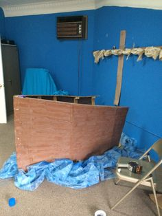 Our boat for Jesus to teach from