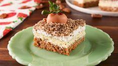 Carrot Patch Cheesecake BarsDelish
