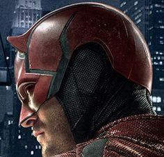 Casco de la segunda parte del 2016 Daredevil Cosplay, Marvel Dc, Dragon Ball, Riding Helmets, Manga Anime, Leo, Sci Fi, Suit, Marvel Universe