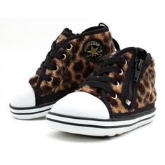 Leopard converse :D Leopard Converse, All Star, High Tops, High Top Sneakers, Kids Fashion, Shoes, Style, Products, Zapatos