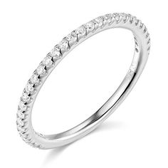 14k Yellow OR White Gold SOLID Wedding Band  http://stylexotic.com/14k-yellow-or-white-gold-solid-wedding-band/