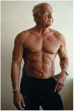 This guy was 70 years old when he decided to get in shape. It's never too late to start
