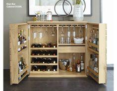 Elan Bar Cabinet. Awesome
