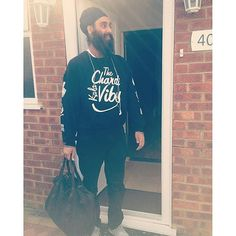 Chardi Kala Vibes Crewneck rocked by @gsingh___  get yours today at www.sikhexpo.com