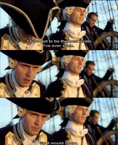 Oh, Norrington--too cool to live and alas, we hardly knew thee...