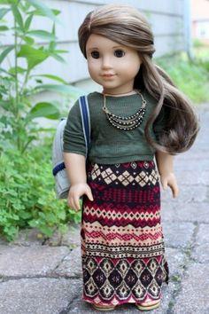 Clarisse in tribal maxi American girl dolls
