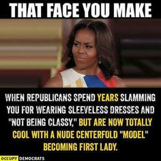 she is a disgrace.  she can't even shave her armpits..no class at all.  melania will make a beautiful and CLASSY first lady.  most women are jealous they don't have the body for playboy!