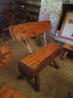 1000 images about garden furniture on pinterest garden for Tree trunk garden bench