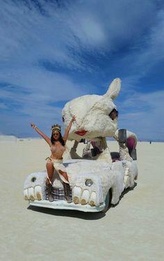 Burning Man 2016 Art Car