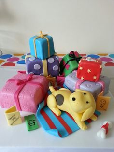 Spot the Dog cake made for my daughter's 3rd birthday