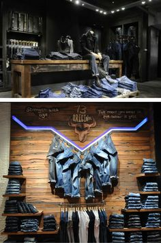 Denim display ideas