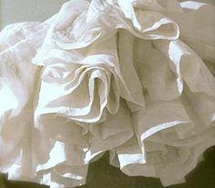 blanco, puro, lino,,, by Caravanne