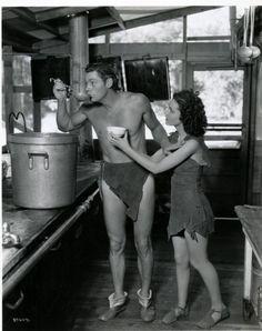 Tarzan eat soup. None for Jane. Umgawa.