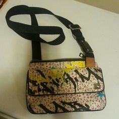 LAMB by Gwen Stefani crossbody Crossbody bag by LAMB, by fashion designer Gwen Stefani. Excellent used condition. Lots of pockets, stylish studs and adjustable strap. Bags Crossbody Bags