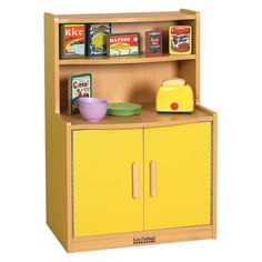 Have to have it. ECR4KIDS Colorful Essentials Play Cupboard $173.33