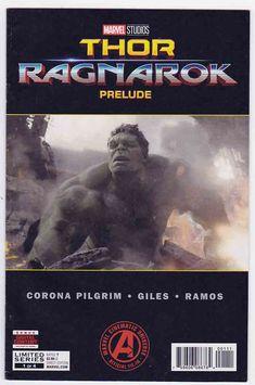 Thor: Ragnarok - Prelude Photo Cover & J. Giles-rivera Pencils, Will Pilgrim Story Thor Comic Book, Rare Comic Books, Online Comic Books, Comic Books For Sale, Bruce Banner, The Incredible Hulk Marvel, Marvel Entertainment, Marvel Dc Comics, Dark Horse