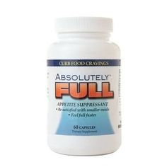 Absolute Nutrition Absolutely FULL Appetite Suppressant, Capsules - 60 ea