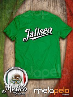 Customized MEXICO  Baseball Style T-Shirts by MelaPelaClothing