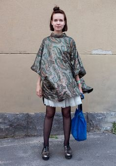 21 Reasons Everyone Should Be Studying Finnish Street Style- The best part is that people actually really do dress like this in Helsinki..