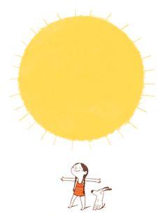 Schön! Kaum ist August, kommt die Sonne und der Sommer wieder. Happy sunday! After summer took a break at the beginning of the week, th...