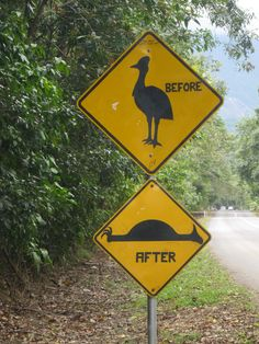 A very funny sign in Australia.