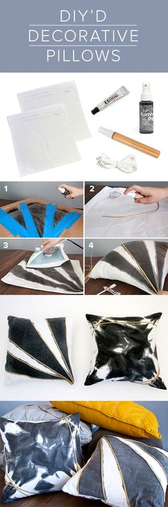 Let's cuddle with these DIY throw pillows. Darbysmart has the perfect project. Use code: perfect gift to save $10.00 on this kit.