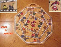 Pegs And Jokers Board