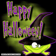 Image result for happy halloween frogs