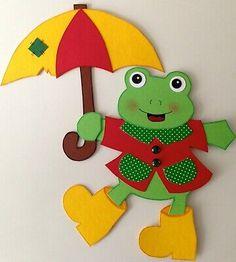 Fensterbild-Tonkarton/kleiner Frosch/Motivauswahl/Sommerdeko.