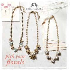Check out what's in bloom on my c+i boutique today at https://www.chloeandisabel.com/boutique/nancynicol