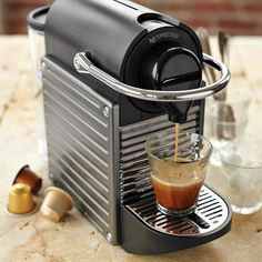Nespresso Pixie Espresso Maker #williamssonoma