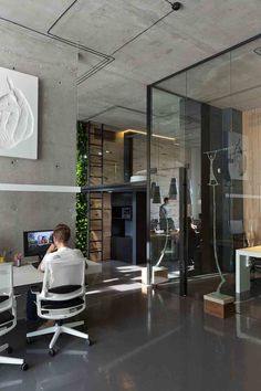Office & showroom by Sergey Makhno Architect #makhnodesign