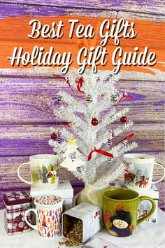 Drawing blanks for your fave tea drinkers for the holidays. We got some ideas! #holidays #christmasgiftideas #christmasgifts #holidaygifts #teadrinker #tealover Simple Gifts, Cool Gifts, Holiday Gift Guide, Holiday Gifts, Pretty Mugs, Subscription Gifts, Tea Culture, Tea Gifts, Loose Leaf Tea