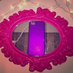 iPhone 5,5s case Simple purple jelly case iPhone 5,5s Other