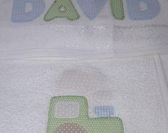 Toalha de Banho Bebê Patch Apliquê