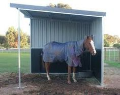 images paddock shelter for horse - Google Search