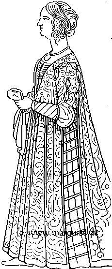 Schnittmuster für mittelalterliche Kleidung