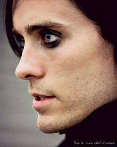 Jared leto now with makeup!