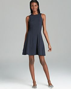 Cute casual dress - sums me up in one dress, and something like this (multiple somethings) would be GREAT for work.