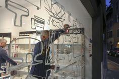 Alfredo Häberli @ Alias SHOP Inaugurazione showroom Iittala all'interno di Alias SHOP
