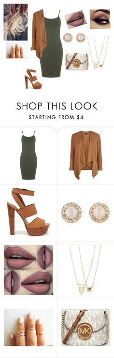 """Untitled #315"" by ljiljana31 ❤ liked on Polyvore featuring Miss Selfridge, New Look, Steve Madden, Kate Spade and MICHAEL Michael Kors"