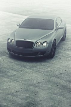 # Bentley # Continental # supercar # silver