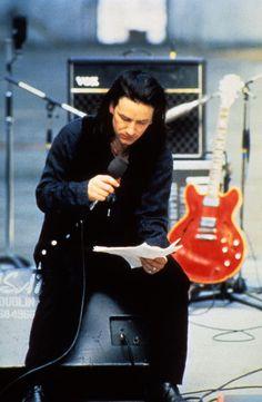Twitter / u2fanlife: Bono + Red Guitar = #RattleandHum #U2