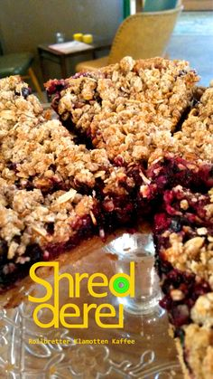 Daily fresh baked cake, cookies and more in our Shredderei Cafe for. Come and enjoy!