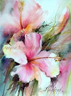 Watercolors, Oils and Acrylics by Brazilian artist Fabio Cembranelli featuring a gallery of original paintings, art tutorials, watercolor tips and his daily paintings. Watercolor Pictures, Watercolor Tips, Watercolor And Ink, Watercolour Painting, Watercolor Flowers, Watercolors, Watercolor Artists, Arte Floral, Art Tutorials