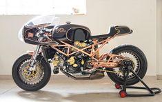 Marco& Ducati Monster - the Bike Shed Ducati Motorcycles, Vintage Motorcycles, Custom Motorcycles, Custom Bikes, Ducati Cafe Racer, Cafe Racer Bikes, Cafe Racers, Ducati Monster S4, Ducati Monster Custom