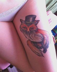 Gentleman Fox #art #tattoo